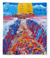 Exodus Fleece Blanket