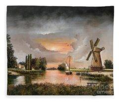 Fairhaven Mill Fleece Blanket