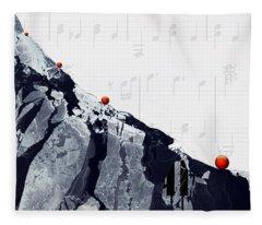 Fantasia - Piano Art By Sharon Cummings Fleece Blanket