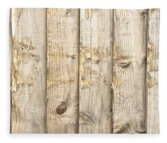 Fence Panels Fleece Blanket