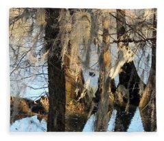 Flint River 36 Fleece Blanket