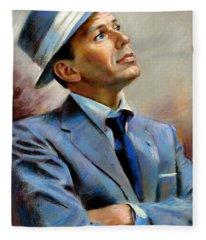 Frank Sinatra  Fleece Blanket