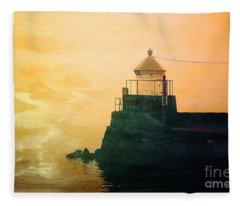 Fyllinga Lighthouse Fleece Blanket