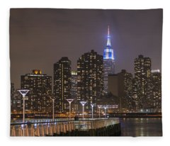 Gantry Nights Fleece Blanket