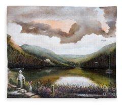 Glendalough Fleece Blanket