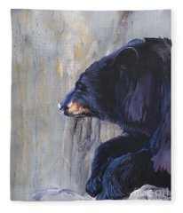 Grandfather Bear Fleece Blanket