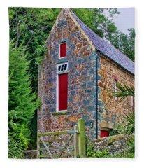 Guernsey Barn Fleece Blanket