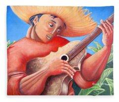 Hidalgo Campesino Fleece Blanket
