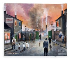 Images Of The Black Country Fleece Blanket