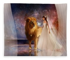 In His Presence Fleece Blanket