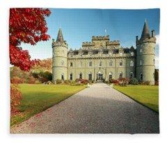 Inveraray Castle Fleece Blanket