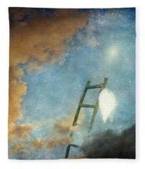 Jacob's Ladder Fleece Blanket