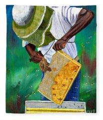 Keeper Of The Bees Fleece Blanket