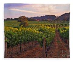 Knight's Valley Summer Solstice Fleece Blanket