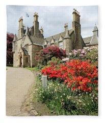 Lauriston Castle Fleece Blanket