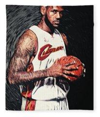 Lebron James Fleece Blanket