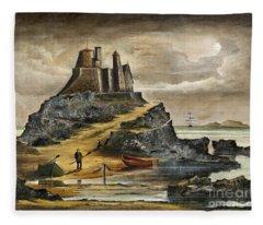 Lindisfarne 2 Fleece Blanket