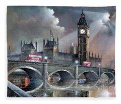 London Pride Fleece Blanket