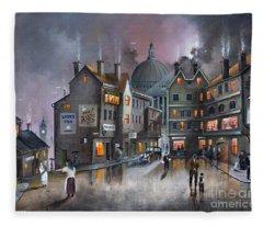 Ludgate Hill Fleece Blanket