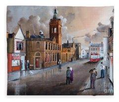 Market Street - Stourbridge Fleece Blanket