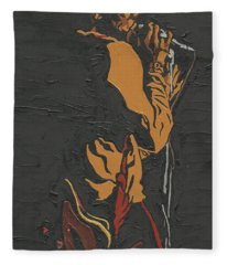 Martin Luther Mccoy Fleece Blanket