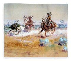 Mexico Fleece Blanket