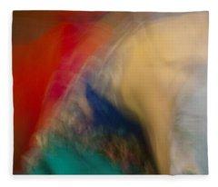 Mideastern Dancing Fleece Blanket