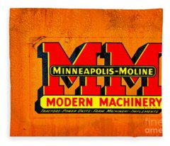 Minneapolis Moline Fleece Blanket