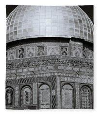 Jerusalem Mosaic Fleece Blanket