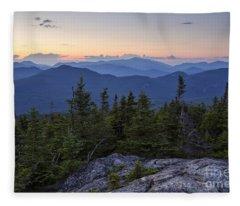Mount Chocorua Scenic Area - Albany New Hampshire Usa Fleece Blanket