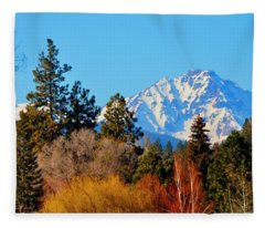 Mt Bachelor 21620 Fleece Blanket