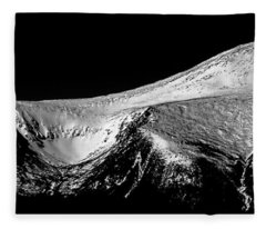Mt Washington And Tuckerman Ravine Fleece Blanket