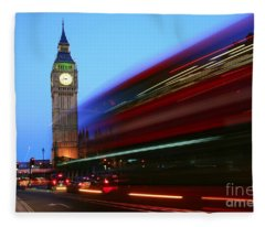 Must Be London Fleece Blanket