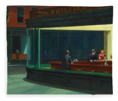 Nighthawks Fleece Blanket
