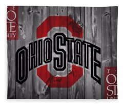 Ohio State Buckeyes Fleece Blanket