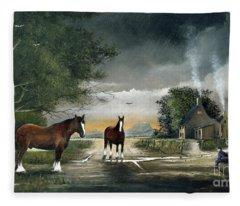 Old Friends Fleece Blanket