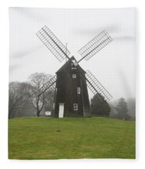 Old Hook Mill Fleece Blanket