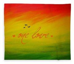 One Love Fleece Blanket
