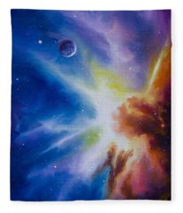 Origin Nebula Fleece Blanket