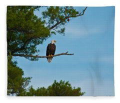 Out On A Limb Fleece Blanket
