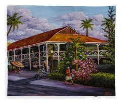 Pioneer Inn Lahaina Fleece Blanket