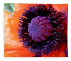 Poppy Fleece Blanket