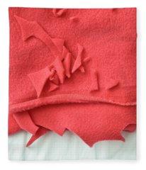 Red Fleece Fleece Blanket