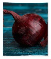 Red Onions Fleece Blanket