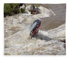Rio Grande Rafting Fleece Blanket