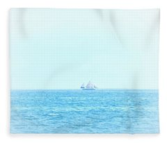 Sail Away With Me Fleece Blanket