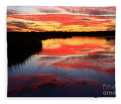 South Ponte Vedra Coast Fleece Blanket