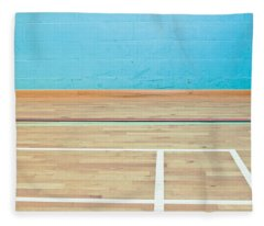 Sports Hall Fleece Blanket