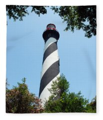 St. Augustine Lighthouse Fleece Blanket