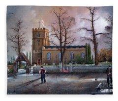 St Marys Church - Kingswinford Fleece Blanket